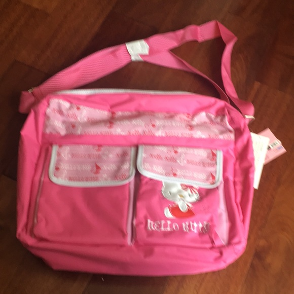 Hello kitty diaper bag pink with side pockets 8ad7263d53387